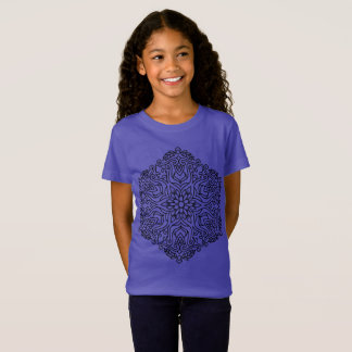 PURPLE TSHIRT with mandala
