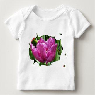 Purple Tulip Baby T-Shirt