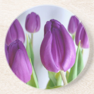 Purple Tulip Coaster