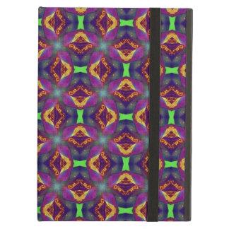 Purple Tulip Fractal Patterned iPad Air Case