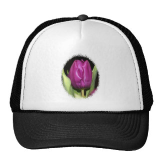 Purple Tulip Trucker Hat
