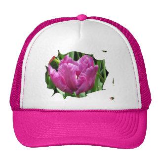 Purple Tulip Trucker Hats