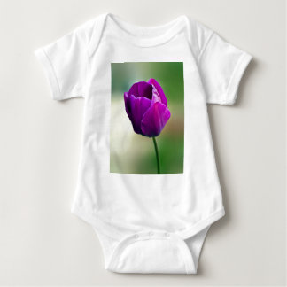 Purple Tulip Infant Creeper