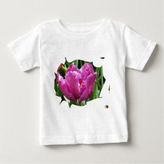Purple Tulip Tee Shirt