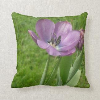 Purple Tulips Cushion
