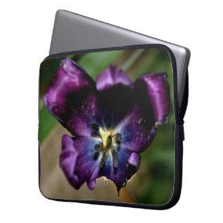Purple Tulips Computer Sleeve