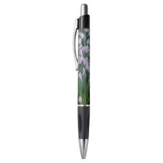 Purple Tulips Pen