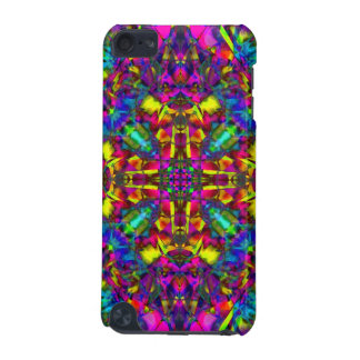 Purple Turquiose and Yellow Mandala Pattern iPod Touch (5th Generation) Case