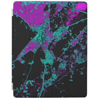 Purple & Turquoise Autumnus iPad Cover