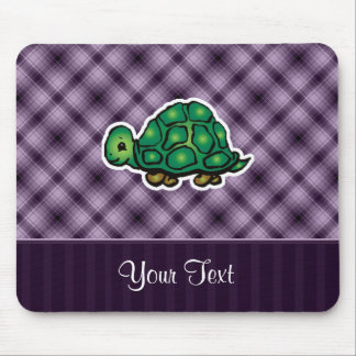 Purple Turtle Mouse Pad
