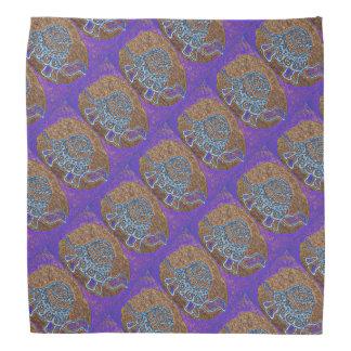 Purple Turtle Pattern Kerchiefs