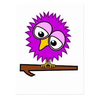 Purple Tweet Postcard