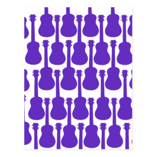 Purple Ukuleles Postcard