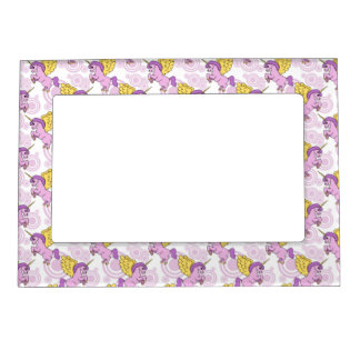 Purple Unicorn Graphic Magnetic Frames