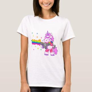 Purple Unicorn - Gun T-Shirt