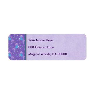 Purple Unicorns Pink Stars