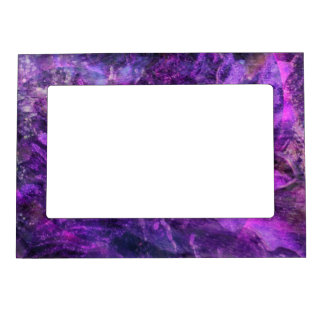 Purple Universe Magnetic Picture Frame