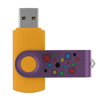 purple USB Flash Drive by DAL