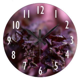 Purple Variation Wall Clock