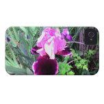 Purple Velvet Iris iPhone 4 Cases