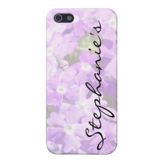 Purple Verbena iPhone 5 Cases