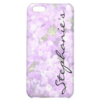 Purple Verbena iPhone 5C Covers