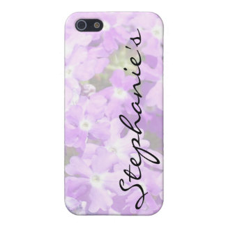 Purple Verbena iPhone 5 Cases