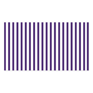 Purple Vertical Stripes Business Card