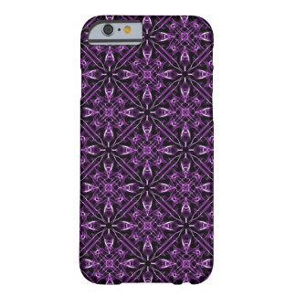 Purple Victorian Fractal Barely There iPhone 6 Case