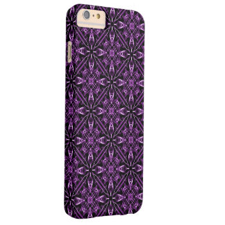 Purple Victorian Fractal Barely There iPhone 6 Plus Case