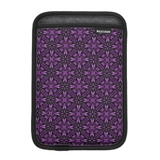 Purple Victorian Fractal Pattern iPad Mini Sleeve