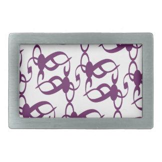 Purple Victorian Lace Belt Buckle