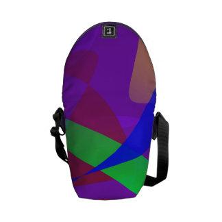 Purple Victory Messenger Bags