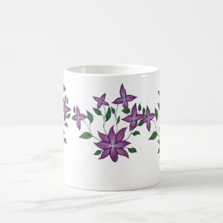 Purple Vining Mugs