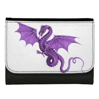 Purple Vintage Dragon Wallet