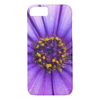 Purple Violet Daisy Flower Macro iPhone 7 Case
