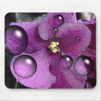 Purple Violet Mouspad Mouse Mat