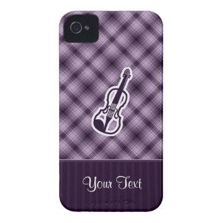 Purple Violin iPhone 4 Case