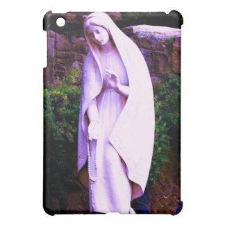 Purple Virgin Mary Statue iPad Mini Covers