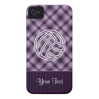 Purple Volleyball Case-Mate iPhone 4 Case