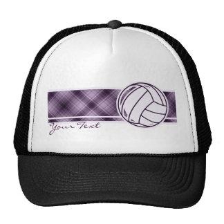 Purple Volleyball Hats