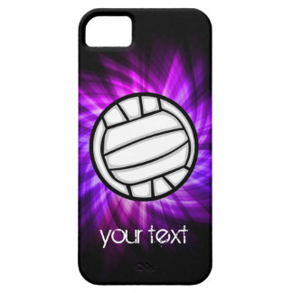 Purple Volleyball iPhone 5 Case