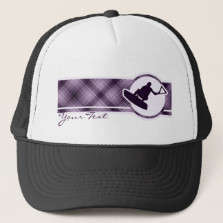 Purple Wakeboarder Trucker Hat