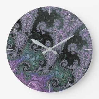Purple Wanderer Clock Design