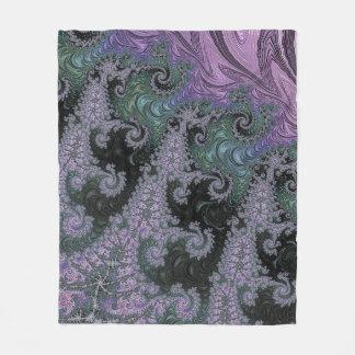 Purple Wanderer Fleece Blanket Bedroom Design