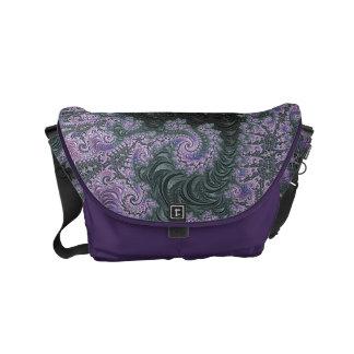 Purple Wanderer Messenger Bag Design
