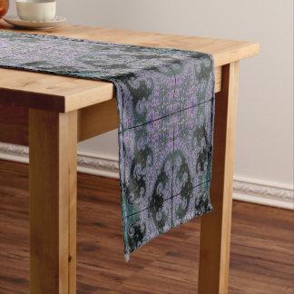 Purple Wanderer Table Runner Dining Room Design