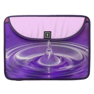 Purple Water Drop Sleeve For MacBook Pro