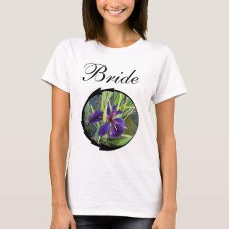 Purple Water Iris Bride T-Shirt