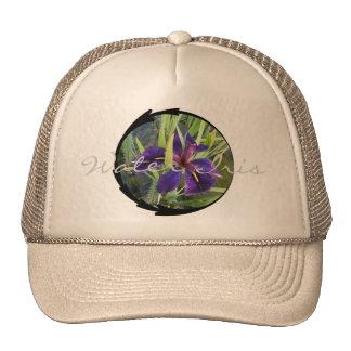 Purple Water Iris Trucker Hat